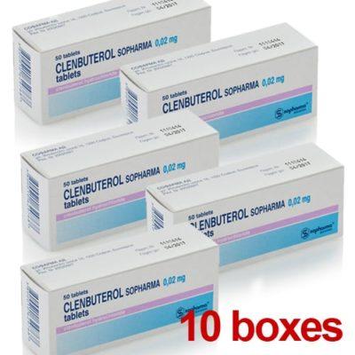 Clenbuterol 10 Boxes